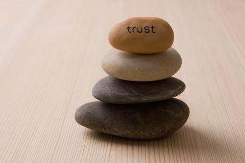 Stones building trust