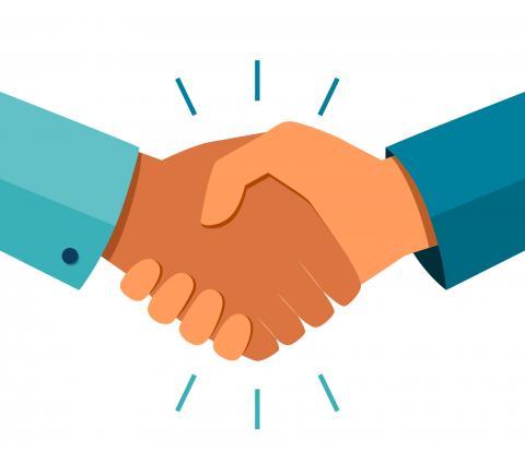 trust handshake image