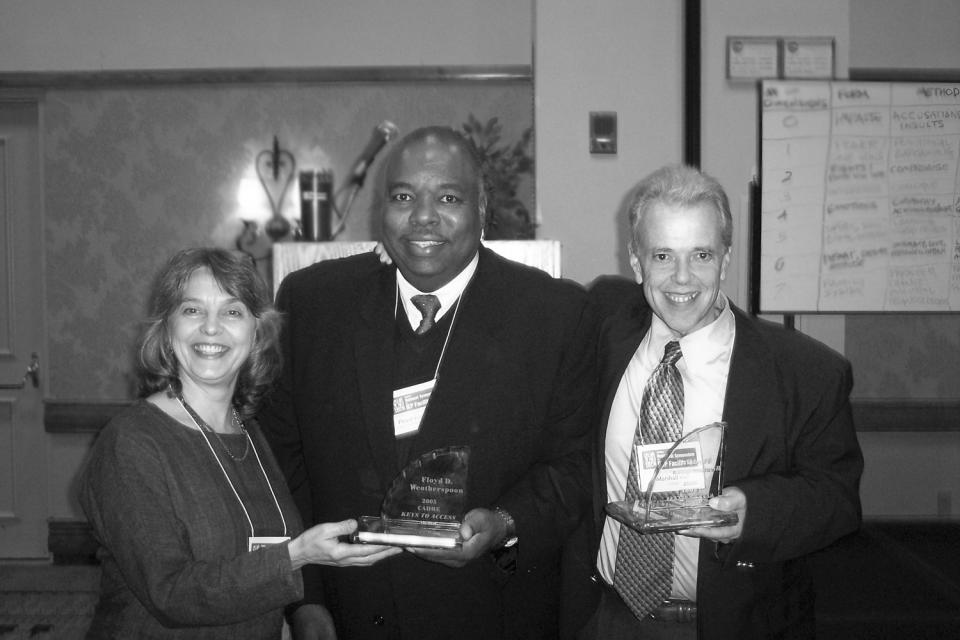 Photo: Anita Engiles, Floyd Weatherspoon, Marshall Peter